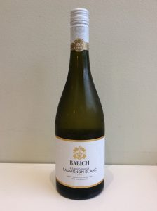Bottle of Babich Sauvignon Blanc white wine