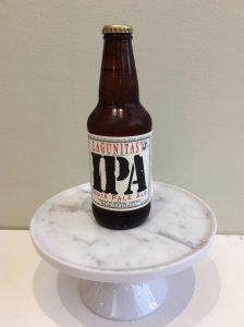 Bottle of Lagunitas IPA beer