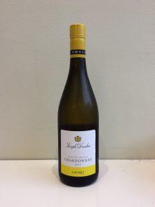 Bottle of La Foret Chardonnay wine