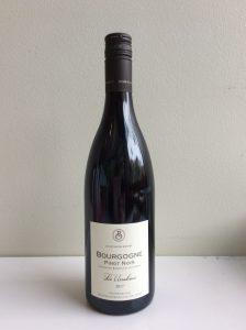 Bottle of Boisset Bourgogne Pinot Noir red wine